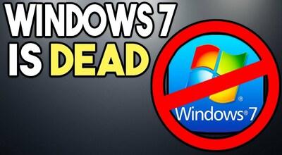 Windows 7 прощай, официально!