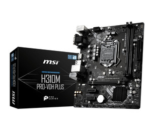 Материнская плата MSI H310M PRO-VDH PLUS