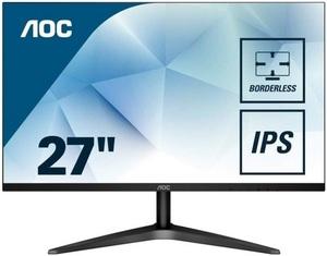 """Монитор 27"""" AOC 27B1H Black (IPS, LED, 1920x1080, 7 ms, 178°/178°, 250 cd/m, 50M:1, +HDMI 1.4)"""