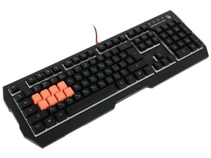 Клавиатура A4tech Bloody b188 black usb