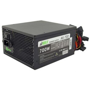 Блок питания Powercool AirMax AK-700W 700W ATX (24+4+6пин, 140mm (SCP)\(OVP)\(OCP)\(UVP)\ATX 12V v.2