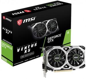Видеокарта MSI GTX 1650 VENTUS XS 4G OC