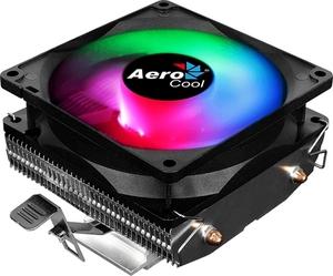 Кулер CPU Aerocool Air Frost 2 (универсальный, 110W, 25.7 dB, 1800 rpm, 80мм, 3pin, подсветка, медь+