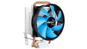 Кулер CPU Aerocool Verkho 1-3P (универсальный, 100W, 27.6 dB, 2300 rpm, 90мм, 3pin, медь+алюминий) R