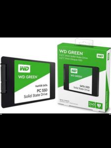 """Твердотельный диск 240GB WD Green, 2.5"""", SATA III, [R/W - 545/- MB/s] 3D-NAND TLC"""