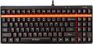 Клавиатура Rapoo V500 черный USB Gamer механич