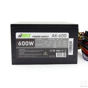 Блок питания Powercool AirMax AK-600W 600W ATX (24+4+6пин, 140mm (SCP)\(OVP)\(OCP)\(UVP)\ATX 12V v.2