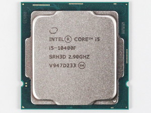 Процессор INTEL Core i5-10400F <Socket 1200, 2.9-4.3GHz, Comet Lake, 6 ядер/ 12 потоков, L3: 12Мбайт