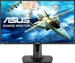 "Монитор 27"" ASUS Gaming VG278Q Black (LED, Wide, 1920x1080, 165Hz, 1ms, 170°/160°, 400 cd/m, 100,00"