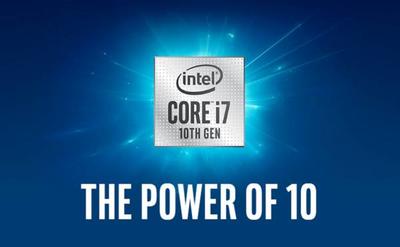 Intel i7 10 поколения снова сделали это!